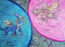 """Fan Pokemon toàn các """"thánh vẽ"""": Cho tờ giấy với cái bút chì, chỉ vài phút đã cho ra siêu phẩm (Phần 2)"""