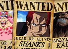 One Piece: Tổng hợp mức truy nã từ thấp đến cao của các nhân vật - Chopper băng Mũ Rơm nằm bét bảng