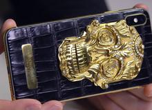 Cận cảnh chiếc iPhone xịn nhất thế giới: Bọc da cá sấu, mạ vàng 18K, nạm trăm viên kim cương