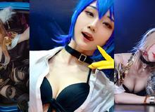 LMHT: Bỏng mắt với 'thánh nữ Hàn Quốc' Miyuko khi cosplay trang phục KDA Ahri