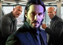 """The Rock xác nhận về vai trò bí ẩn của """"Ông Kẹ"""" Keanu Reeves trong """"Hobbs & Shaw"""""""