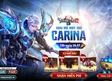 Ra mắt server mới Carina, Thánh Chiến 3D tặng Gift Code dành cho các tân thủ trải nghiệm