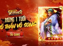 Tròn 1 năm ra mắt, Võ Thần Vô Song tặng miễn phí tướng VIP Gia Cát Lượng 5 sao cho tất cả người chơi mới