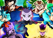 Dragon Ball Super: Nhìn lại 8 chiến binh mạnh nhất của từng vũ trụ tham gia giải đấu sức mạnh