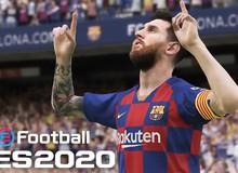 Không cần tốn tiền, game thủ vẫn sẽ được trải nghiệm PES 2020 miễn phí