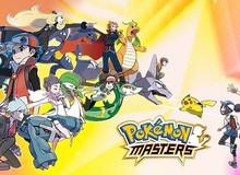 Pokémon Masters - Game mobile đánh theo lượt thể thức 3v3 mở đăng ký trước