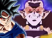 Super Dragon Ball Heroes tập 14: Bị đánh bại, Goku thức tỉnh bản năng vô cực để chống lại Hearts lần nữa