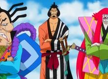 """One Piece: Lý do Kinemon và nhóm Cửu hồng bao sau khi xuyên không về lại """"yếu"""" hơn những người ở lại quá khứ"""