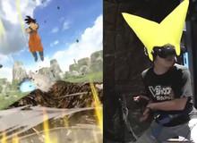 """Công nghệ VR đỉnh cao mang đến cho game thủ cảm giác tung chưởng """"KAMEJOKO"""" như Songoku thực thụ"""