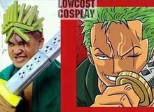 Low cost cosplay phá vỡ mọi giới hạn tưởng tượng khi hóa thân thành các nhân vật trong Naruto, One Piece và Dragon Ball