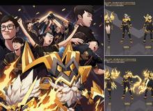 LMHT: Đợi mãi mà RNG chưa chịu vô địch CKTG, fan cứng tự tay thiết kế trang phục cho Uzi và đồng đội
