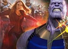 """Nếu không có sự giúp sức của đội quân hùng mạnh, Thanos đã bị Scarlet Witch cho """"ăn hành"""" ngập mặt"""