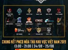 Điểm mặt chỉ tên những cái tên nổi bật nhất giải đấu PUBG Mobile - PMCO Mùa Thu 2019