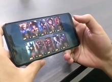Cận cảnh gameplay của Liên Minh Huyền Thoại Mobile do tester TQ thực hiện, bom tấn đích thực là đây!