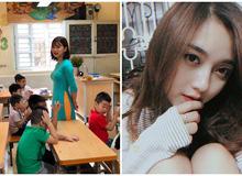 """Nhan sắc quyến rũ của gái xinh là cô giáo tiểu học siêu hot đang gây """"bão"""" mạng xã hội"""