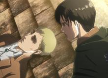 Attack on Titan: Lý do Levi quyết định tiêm dịch tủy Titan cho Armin chứ không phải Erwin
