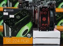 Mùa hè CPU nóng rực? Hãy thử ID COOLING SE-224-RGB vừa rẻ vừa ngon vừa đẹp
