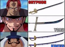 Danh kiếm và những loại vũ khí đã xuất hiện trong thế giới One Piece