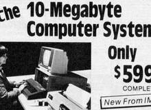 Choáng với 'quả' siêu máy tính thập niên 80: Ổ cứng 10MB, RAM 64K bán giá hơn 150 triệu