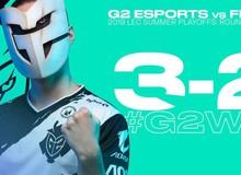 LMHT: Lội ngược dòng không tưởng, G2 Esports vượt qua Fnatic và tiến tới trận chung kết tổng LEC