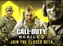 Garena mở Close Beta cho Call of Duty Mobile, game thủ VN không nên bỏ lỡ