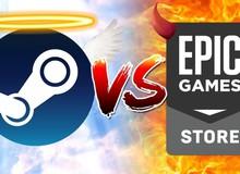 Steam bất ngờ lên tiếng xoa dịu Epic Games Store