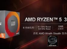 AMD Ryzen 5 3500X và Ryzen 5 3500 sắp lộ diện, đối căng của CPU siêu gaming i5 9400F của Intel
