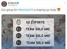 LMHT: Ngồi không đợi bốc thăm CKTG 2019 thì buồn quá, G2 Esports lại đi chọc ngoáy cà khịa cả thiên hạ