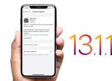 Apple tung ra iOS 13.1.1: Sửa lỗi hao pin và nhiều lỗi khác