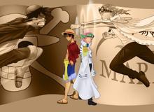 One Piece: Luffy và Coby sẽ thành lập liên minh hải tặc - hải quân để đánh bại Râu Đen 1 lần và mãi mãi?