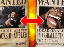 """One Piece: Khám phá mối quan hệ """"kế thừa"""" giữa Marshall D. Teach và hải tặc huyền thoại Rocks"""