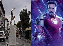Hậu Endgame, Iron-Man được xây dựng tượng đài nhằm tôn vinh như một người dành cả đời cho lý tưởng sống