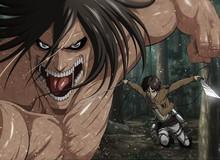 Attack on Titan: Eren Yeager và 3 nhân vật đã sở hữu sức mạnh của Titan Tiến Công