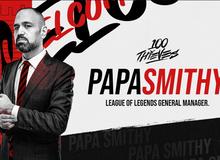 LMHT: 'Giọng nói của LCK' BLV PapaSmithy chuyển sang tổ chức 100 Thieves với cương vị Tổng Giám Đốc