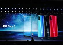Honor Play 3 ra mắt: Màn hình đục lỗ, 3 camera sau, cảm biến 48MP, chip Kirin 710F, pin 4.000 mAh, giá chỉ từ 140 USD