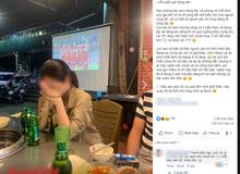Đang đi ăn ủng hộ U23 VN, cô gái chợt thấy trên tivi chiếu cảnh người yêu đang ở SVĐ làm điều không tưởng đến nỗi bật khóc tại chỗ