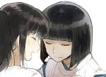 Ngẩn ngơ khi ngắm 3 cặp đôi nổi tiếng của Studio Ghibli được tái hiện trong thời hiện đại