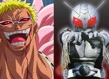 One Piece: Thật bất ngờ, Doflamingo được lấy cảm hứng từ Kamen Rider Super-1