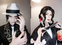 """Kimetsu no Yaiba: Kibutsuji Muzan """"biến hóa khôn lường"""" qua loạt ảnh cosplay siêu chất"""
