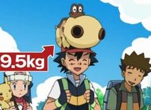 Khỏe như Ash Ketchum: Đặt nửa tạ lên đầu vẫn không sao, bế Pokemon 70 kg vẫn cười tươi rói!