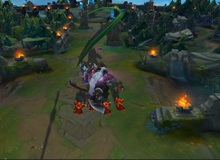 Sion bất ngờ có khả năng siêu dị, có thể dịch chuyển cả bàn đồ, bay giữa bầu trời như Siêu Nhân