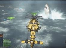 Phát hiện cá mập khổng lồ trong Battlefield 4