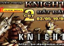 Knight Online ra mắt Close Beta lần 2 hoàn chỉnh