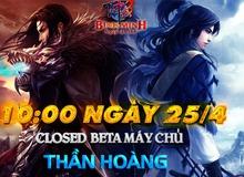Tru Tiên ấn định Closed Beta, tặng Giftcode Bích Dao