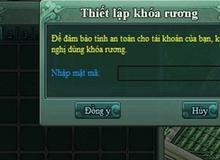 Game thủ Võ Lâm Chi Mộng bức xúc vì mật khẩu rương