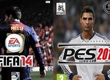 Cảm nhận và so sánh gameplay của PES với FIFA 14