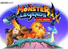 Monster Legends - Bận rộn với Game nuôi thú vui nhộn trên MXH Facebook