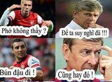 Ảnh chế hài hước Arsenal sang Việt Nam