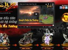 Webgame Thiên Hạ 2 tung teaser ra mắt game thủ Việt