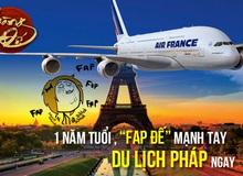 Hoàng Đế thử vận may tới Pháp